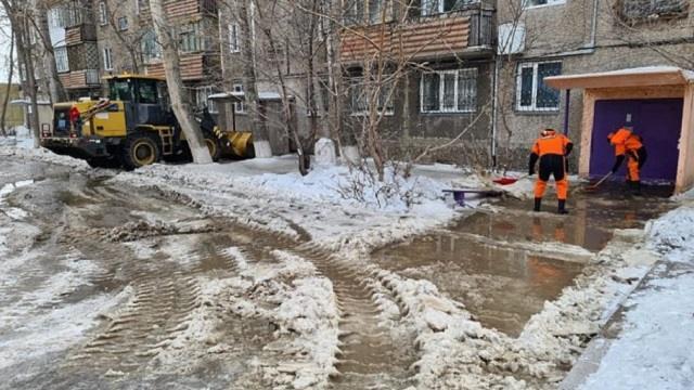 Видео: В Темиртау центр города затопило водой