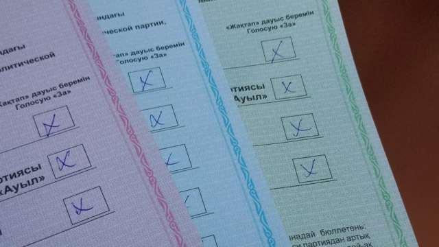 Житель Костаная проголосовал на выборах дважды. Избирком отреагировал на нарушение