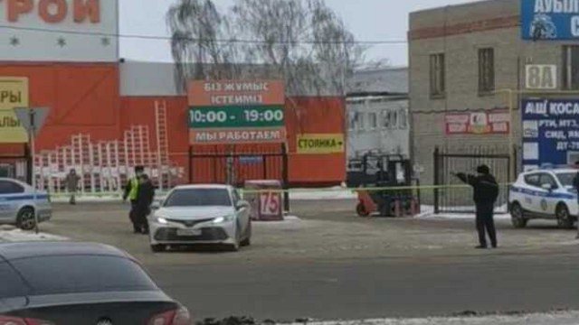 Из здания крупного строительного магазина срочно эвакуировали людей в Костанае