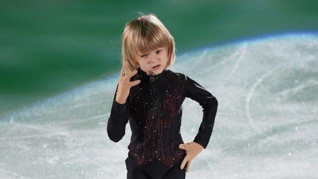 «Только доллары!» 8-летний сын Плющенко отказался выступать за игрушки