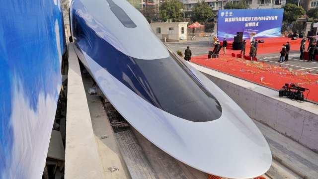 620 км/ч: Начались испытания супербыстрого поезда на магнитной подушке