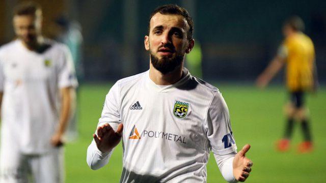 Грузинский полузащитник Ника Квеквескири покинул костанайский «Тобол»