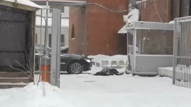 «Хотел остановить»: Водитель погиб под колёсами служебной BMW