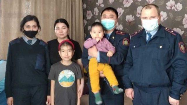 Полицейские Костанайской области посетили семью погибшего сотрудника