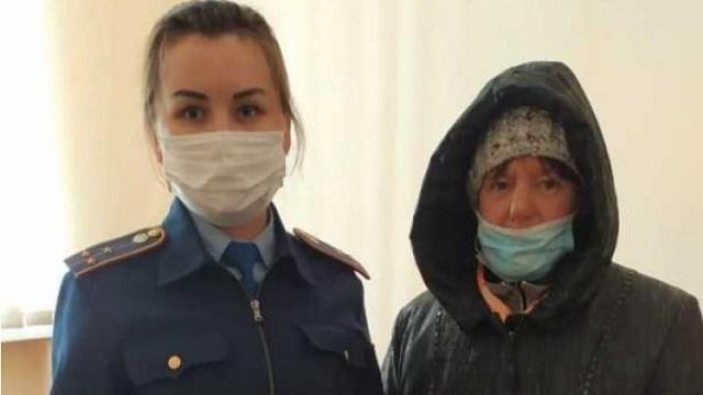 Полицейские помогли пострадавшей жительнице Костанайской области