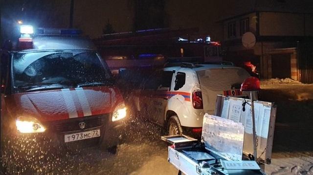 При пожаре в нелегальном доме престарелых погибли семь человек