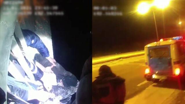 Житель ВКО пытался спрыгнуть с моста. Спасли полицейские