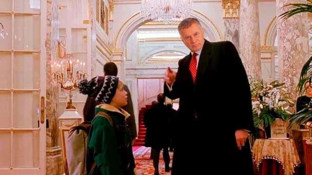 Жириновский предложил заменить Трампа собой в комедии «Один дома-2»