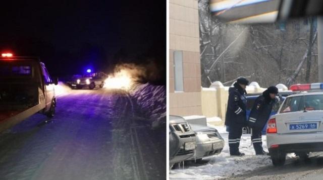 Подросток устроил погоню и врезался в патрульный автомобиль