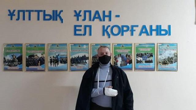 «Так поступил бы каждый»: Гвардеец спас казахстанку от насильников
