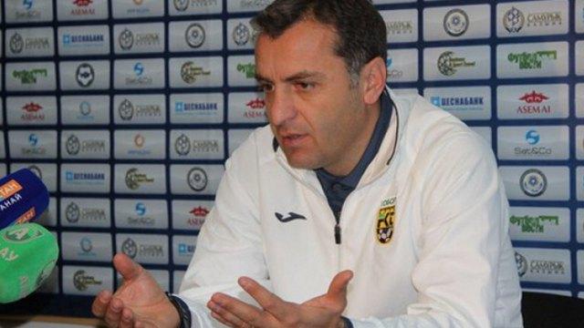 Бывший тренер костанайского «Тобола» Вардан Минасян возглавил «Тараз»