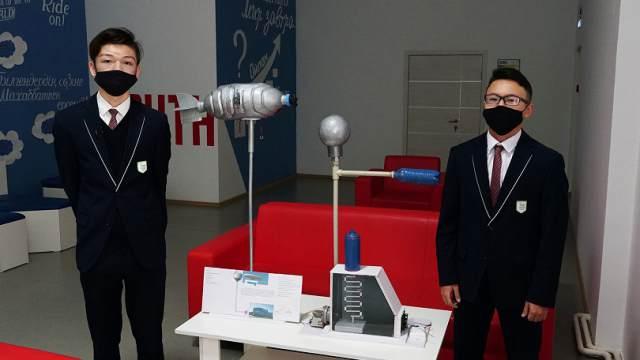 Школьники из Казахстана придумали, как восстановить озоновый слой Земли