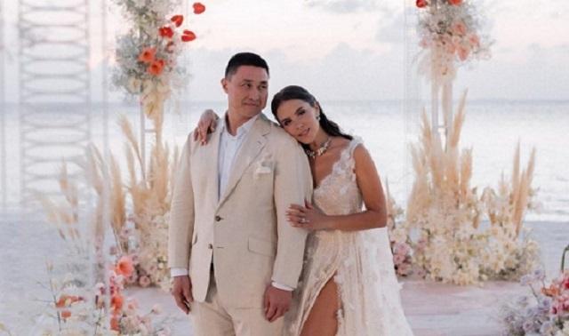Украинская телеведущая Иванна Онуфрийчук вышла замуж за казахского бизнесмена на Мальдивах
