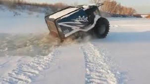 Шерп провалился под лед. Новый тест-драйв