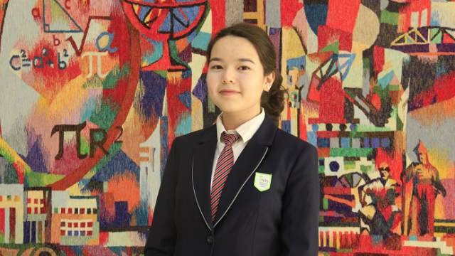 Золото на международном конкурсе в России завоевала школьница из Костаная