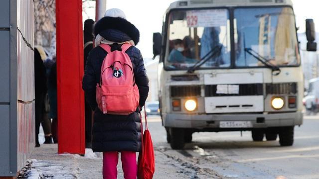 Поздним вечером в 20-градусный мороз из автобуса высадили детей без маски