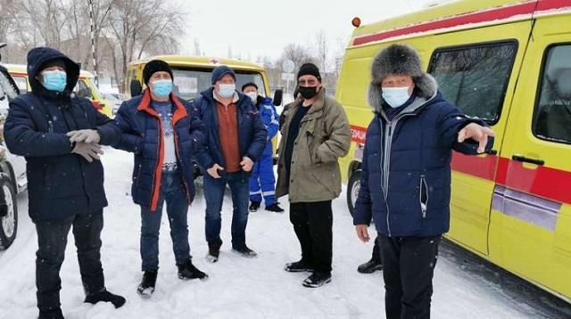Водители «скорой» из Рудного берут уроки у алматинских мастеров школы экстремального вождения