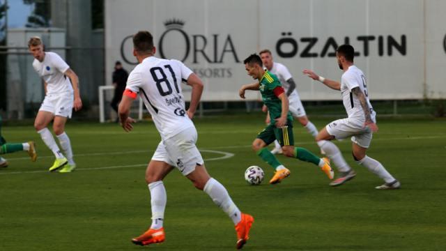 Костанайский «Тобол» сыграл первый товарищеский матч на сборах в Турции