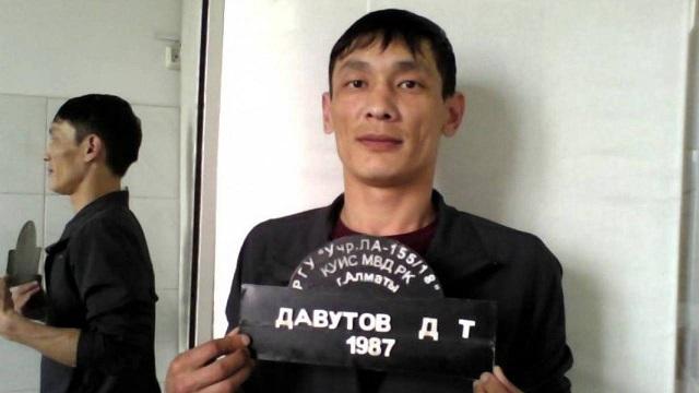 Заключенный-беглец Дамир Давутов из Алматы задержан в Актобе