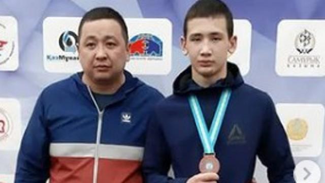 Юные борцы из Костаная взяли две бронзы чемпионата Казахстана