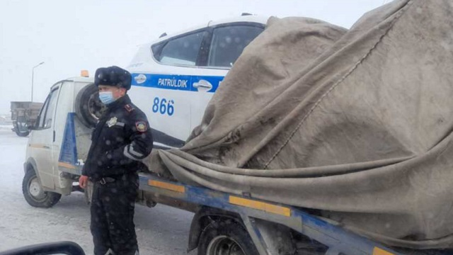 ДТП с участием полицейского автомобиля прозошло на трассе