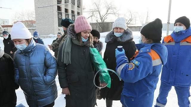 Спасатели Костаная провели экскурсию для школьников