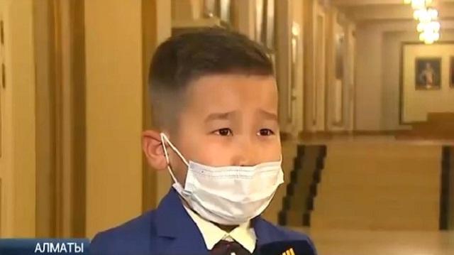 8-летний Ералы Долқын победил в конкурсе «Караван доброты»