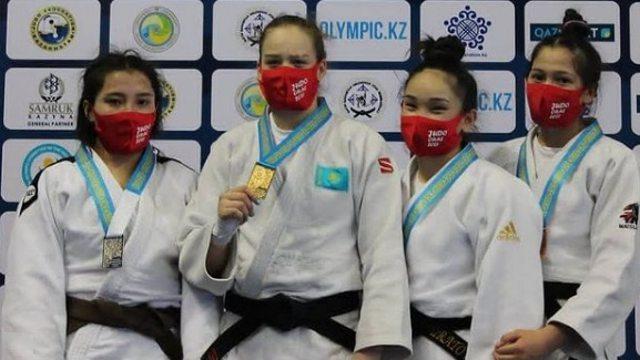 Самалай Ергалиева выиграла серебро Молодёжных игр по дзюдо