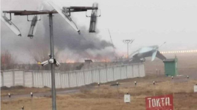 Появились подробности крушения самолета Ан-26 под Алматы
