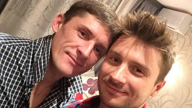Сергей Лазарев почтил память старшего брата