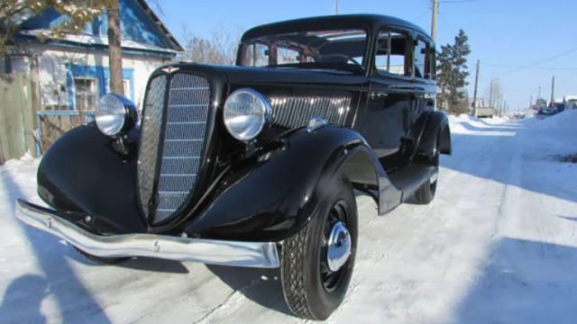 Лимузин времен СССР выставлен на продажу в Казахстане