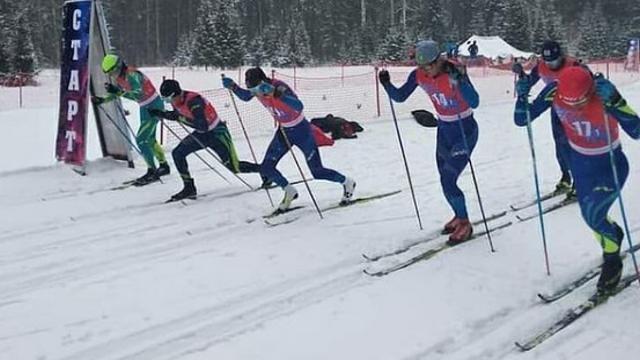 Костанайские лыжники заняли третье место на чемпионате Казахстана