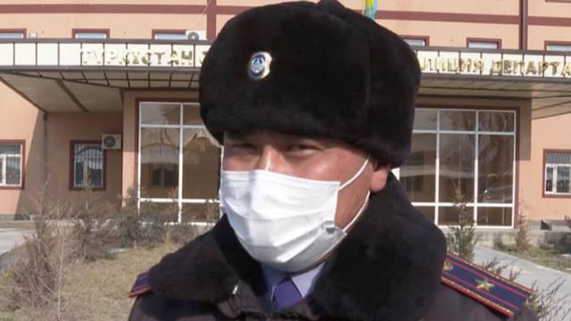 «Это моя работа»: Полицейский обезоружил убийцу в Казахстане