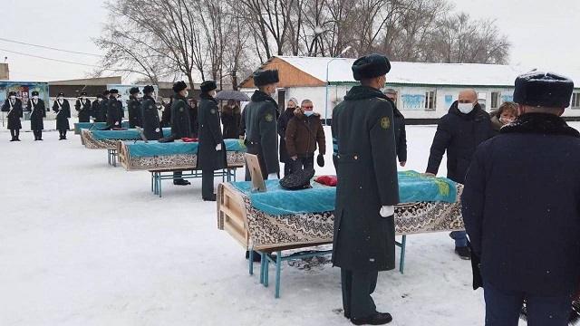 Авиакатастрофа АН-26. С погибшими простились в Алматы