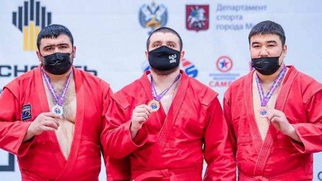 Костанаец Талгат Жиентаев стал третьим на Кубке мира по самбо