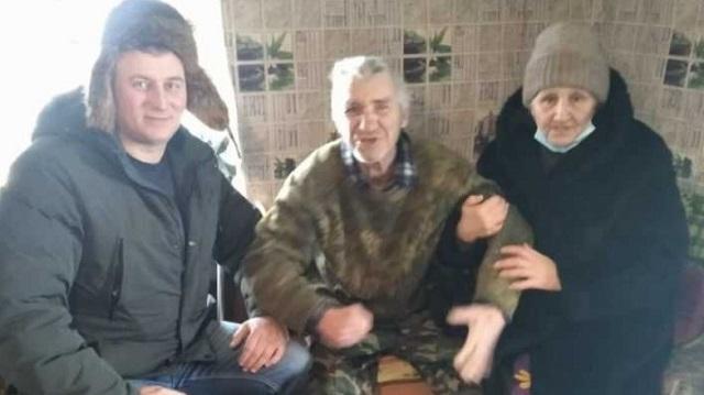 Пропавшего в буран инвалида из села Денисовка нашли полицейские