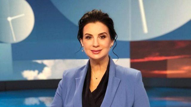 Екатерина Стриженова сломала руку в прямом эфире