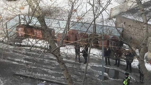 Труп мужчины найден возле мусорного контейнера в Павлодаре