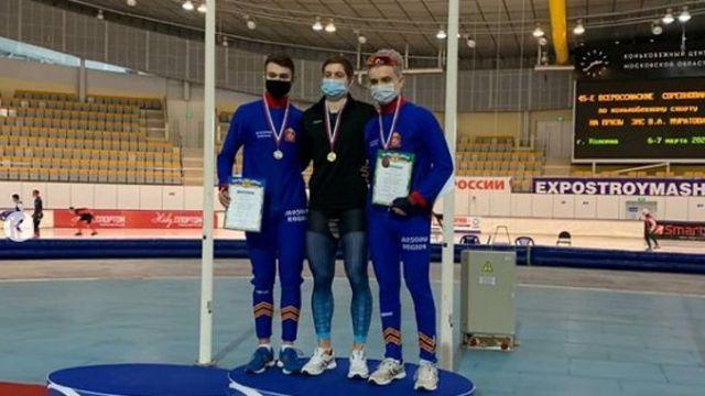 Конькобежец из Рудного выиграл турнир в Подмосковье