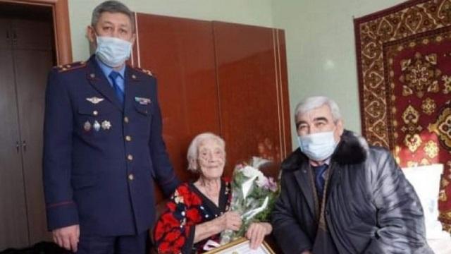 Ветерану войны и ОВД Евдокии Войкиной исполнилось 100 лет