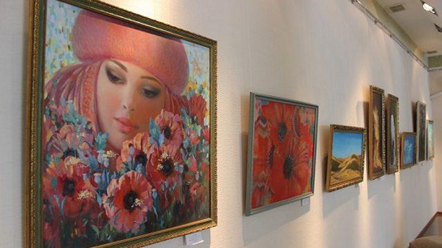Выставка картин «Это всё – весна» открывается к 8 Марта в Костанае