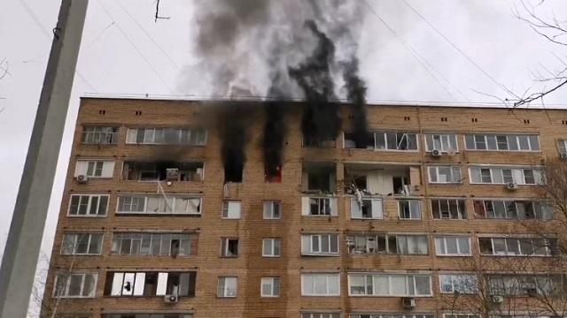 Взрыв в жилой девятиэтажке Подмосковья: Есть погибшие и раненые