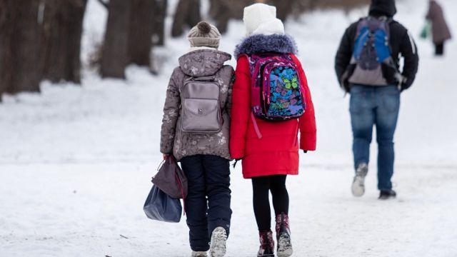 С первого апреля ученики всех школ региона выйдут на занятия