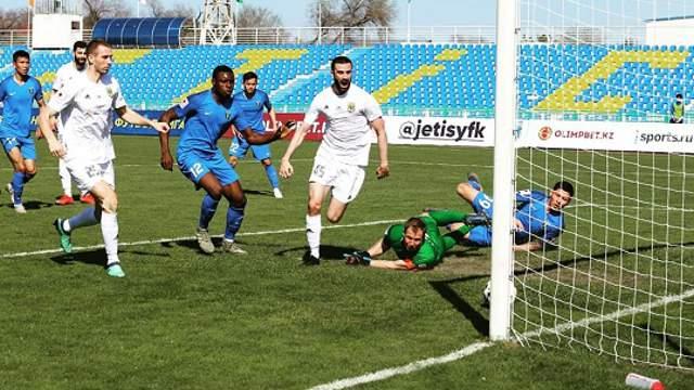 Костанайский «Тобол» одержал победу в Талдыкоргане