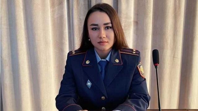 Валентина Баева из Рудного: «Горжусь тем, что служу в полиции»