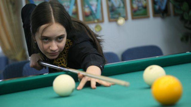 Рудничанка Дарья Коваль — чемпион Казахстана по бильярду