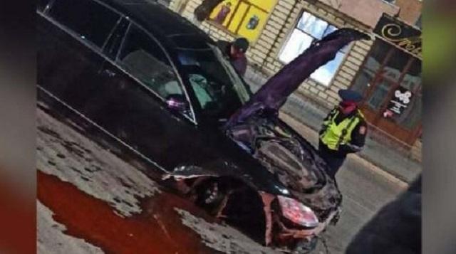 «Поворот налево»: Серьезное ДТП произошло в центре Кокшетау