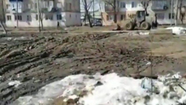Жители ещё одной улицы жалуются на непролазную грязь в Костанае