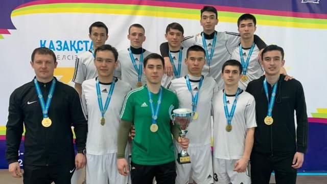 Костанайцы победили в Школьной лиге Казахстана по футзалу