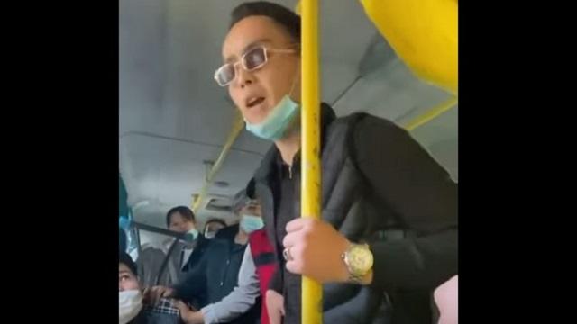 «Че там?»: Конфликт казахстанцев в автобусе обсуждают в Казнете